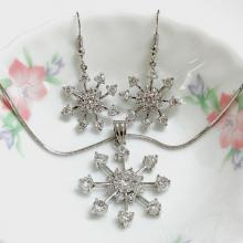 Snowflake Fashion Jewelry Set
