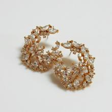 Wedding Bridal Fantastic CZ Earrings
