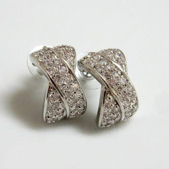 X Shaped Earrings